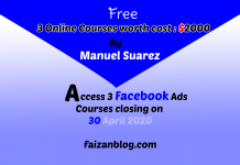 Free Facebook Ads Course Training [$2000]