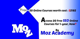 free online courses by moz