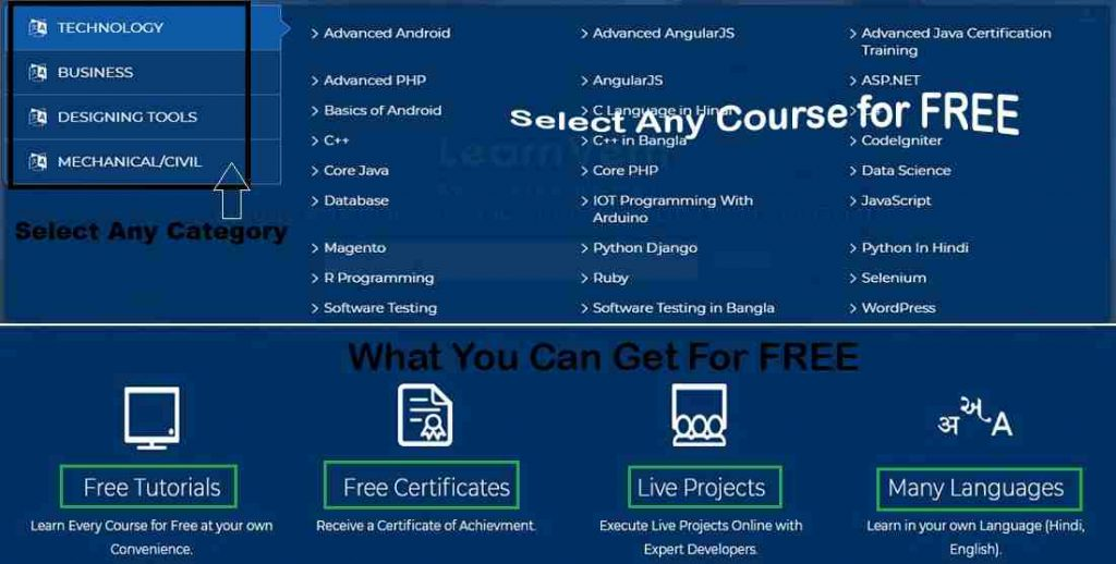 Free online computer courses with certificate