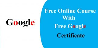 google-free-online-course