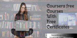Coursera free courses with certificate
