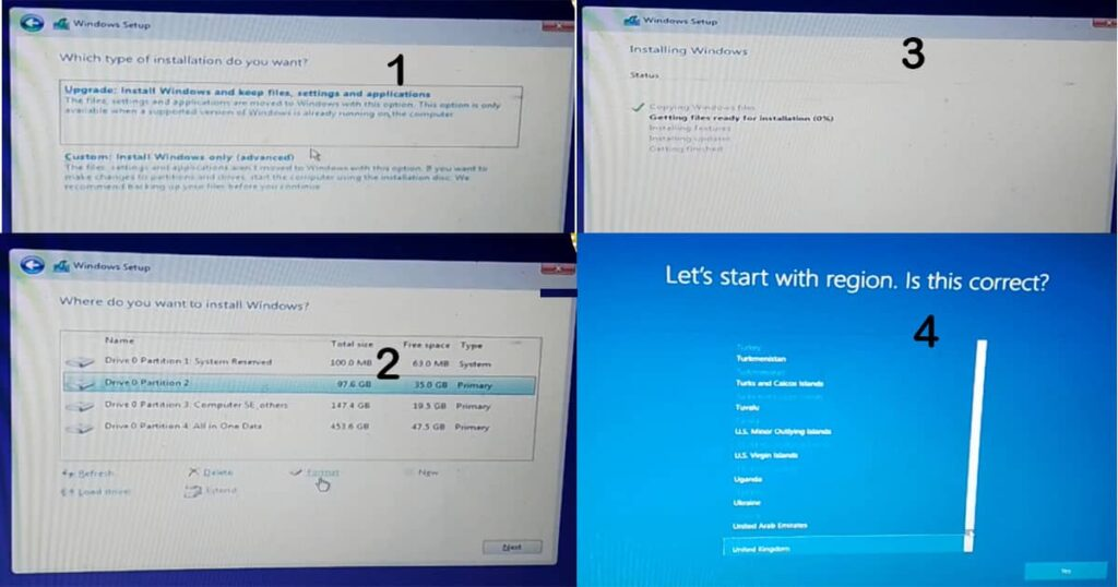 how to do a clean install of windows 10