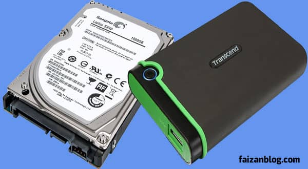 Internal Vs External Hard Disk